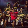 Este foi o terceiro show de Bruno Mars no Brasil pela turnê ' 24K Magic World Tour'