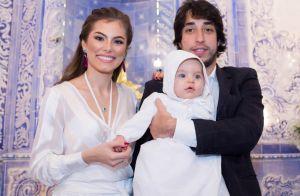 Bruna Hamú batiza o filho, Júlio, de 6 meses: 'Momento único e especial'. Fotos!