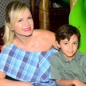Eliana leva o filho, Arthur, para assistir Bruno Mars: '1° show do meu pequeno'