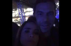 Música de Bruno Mars embala beijo de Wanessa Camargo no marido em show. Vídeo!
