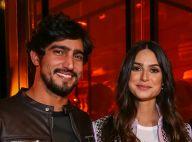 Thaila Ayala é vista aos beijos com Renato Goés em show do Skank no Rio