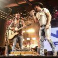 Fernando e Sorocaba fazem show em comemoração do aniversário de 20 anosda rádio 'Nativa FM', no Villa Country, em São Paulo, neste domingo 26 de novembro de 2017