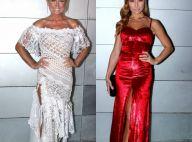 Xuxa e Sabrina Sato apostam em vestidos fendados para jantar. Veja mais looks!