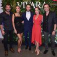 Klebber Toledo se reúne com Sabrina Sato e mais famosos em lançamento de coleção  Origens e Vivara Watches, da marca de joias Vivara, em São Paulo, na noite desta terça-feira, 28 de novembro de 2017
