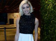 Sophie Charlotte fala de cabelo platinado em evento de gala: 'Estou adorando'