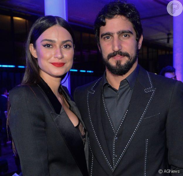 Thaila Ayala assume relacionamento com Renato Góes durante a premiação GQ Men of the Year, que aconteceu em São Paulo, na noite de quinta-feira, 30 de novembro de 2017