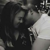 Empresário afasta rumor de fim de noivado com Zilu Camargo com foto: 'Meu amor'
