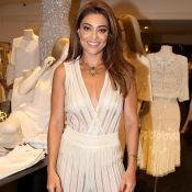 Juliana Paes elege body transparente de R$ 1,2 mil para evento de grife. Fotos!