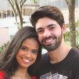 Aline Dias, namorada de Rafael Cupello, não temeu pelo futuro da carreira ao descobrir gravidez: 'Filho não destrói a carreira de ninguém'
