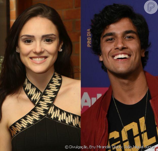 Isabelle Drummond está namorando Fábio Scalon, o intérprete do personagem Jabá, da última temporada de 'Malhação'