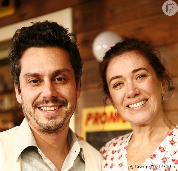 'Falso Brilhante' terá como protagonistas Alexandre Nero e Lilia Cabral