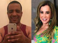 Marco Antonio Teles ironiza fim de noivado com Zilu após treino: 'Com aliança'