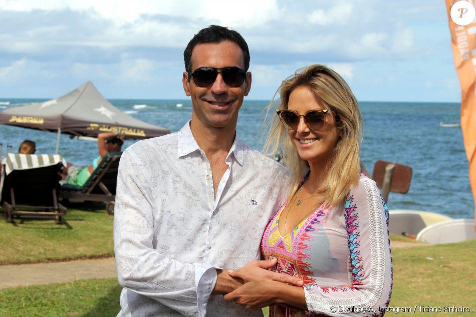 Cesar Tralli também mandou recado para Ticiane Pinheiro: 'Coisa linda'