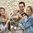 Enrico, filho de Karina Bacchi, é fruto de uma produção independente