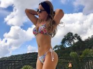 Zilu Camargo ostenta boa forma em foto de biquíni e ganha elogios: 'Que corpão'
