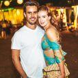 Marina Ruy Barbosa ainda está se adaptando à vida de casada: 'Tenho gravação de segunda a sábado. Foi tudo junto, vida nova, casa nova, eu ainda estou me acostumado com isso'