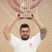 'MasterChef': Pablo vence programa e ganha prêmio de R$ 200 mil. 'Realizado'