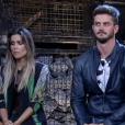 Em 'A Fazenda', Marcos Härter dá trégua em brigas com Flávia Viana e elogia peoa em última roça: 'Tem seu carisma'