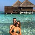 Ticiane Pinheiro e Cesar Tralli curtem lua de mel no Taj Exotica Resort & Spa, nas Ilhas Maldivas