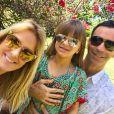 Filha de Ticiane Pinheiro, Rafaella Justus foi daminha do casamento da mãe com Cesar Tralli