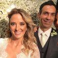 Ticiane Pinheiro e Cesar Tralli se casaram em um hotel em Campos do Jordão, São Paulo, no último sábado, 2 de dezembro de 2017