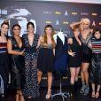 Juliana Paes posou com o elenco do fashion film 'Oitavo'