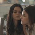 Na novela 'Malhação', Talita Younan (K1) comenta sobre a reaproximação da sua personagem com Keyla (Gabriela Medvedovski): 'Ela foi muito parceira, uma irmã, acolheu K1 em casa, deu teto, afeto, abraço e deu a ajuda e o carinho que ela estava precisando naquele momento'