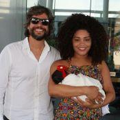 Juliana Alves mostra crescimento da filha, Yolanda: 'Poder do leite de mãe'
