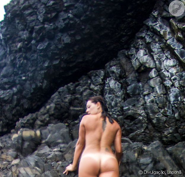 Fabiula Nascimento mostrou suas curvas em uma foto nua em Fernando Noronha
