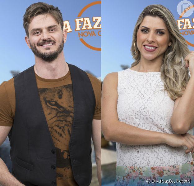 Marcos Härter contou ao programa 'Domingo Show' que Ana Paula Minerato assinou um termo, a pedido da Record, afirmando que não foi estuprada em 'A Fazenda - Nova Chance'