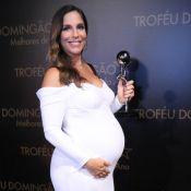 Ivete Sangalo dedica prêmio ao filho e às gêmeas: 'Irmão poderoso pra elas'