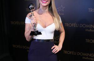 Famosos apostam em produções estilosas para o Troféu Domingão. Veja looks!