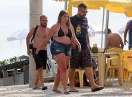 Marília Mendonça aproveita dia de folga com amigos em praia no Rio. Fotos!