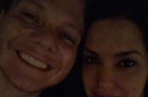 Thais Fersoza curte cinema com marido, Michel Teló: 'Filminho de segunda'. Vídeo