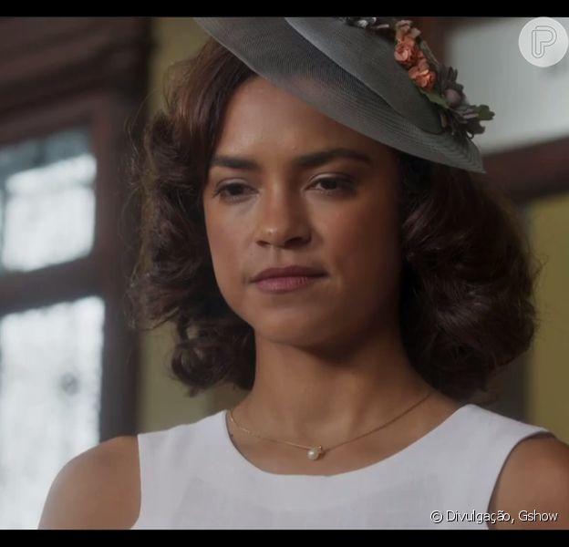 Ao descobrir que Reinaldo (Cássio Gabus Mendes) perdeu seu emprego no hospital, Eunice (Lucy Alves) acabará o namoro com o médico, no capítulo que vai ao ar no dia 21 de dezembro de 2017, na novela 'Tempo de Amar'