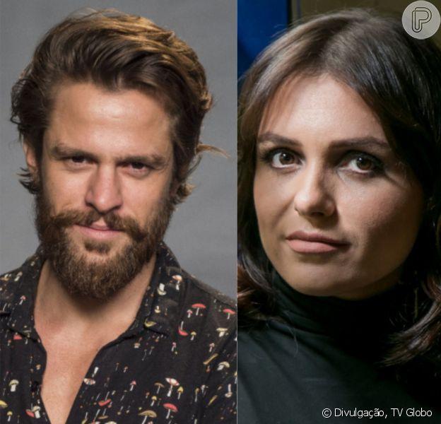 Alejandro Claveaux negou romance com Monica Iozzi e revelou ao Purepeople, nesta terça-feira, 12 de dezembro de 2017: 'Achamos que somos primo de primeiro grau'