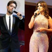 Ex de Paula Fernandes, Thiago Arancam canta em evento prestigiado por cantora