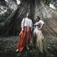 Anitta, parceira de Alesso no hit 'Is That For Me', viajou para a Amazônia com o namorado, Thiago Magalhães