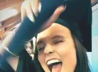 Larissa Manoela comemora formatura no Ensino Médio: 'Consegui'. Vídeo!