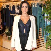 Cleo Pires compõe look com calça transparente, bota e body de R$ 250. Fotos!