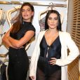 No evento, Cleo Pires esteve ao lado da modelo Mariana Goldfarb