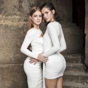 Conexão fashion: Marina Ruy Barbosa e Bruna Marquezine usam branco em lançamento