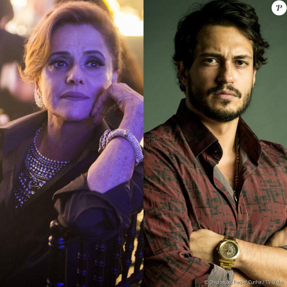 Sophia (Marieta Severo) usa tesoura para assassinar Laerte (Raphael Vianna) depois de ser chantageada na novela 'O Outro Lado do Paraíso'