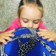 Mariana Bridi contou que está desmamando a filha, Aurora, de 3 anos