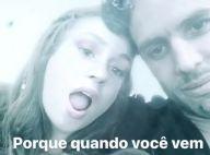 Marina Ruy Barbosa se diverte com marido na web: 'Quando você vem fica tudo bem'