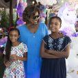 A festa de Laura e Maria, filhas de Gloria Maria, aconteceu no Centro Cultural Goiabeira Coisa e Tal, na Barrinha, zona oeste do Rio