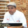 Ana Hickmann foi presenteada pelo apresentador do reality culinário 'Cake Boss', o Buddy Valastro
