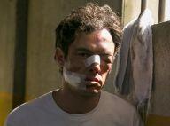 'O Outro Lado do Paraíso': Gael, desfigurado após surra, suborna presos. Fotos!