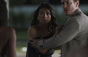 'O Outro Lado do Paraíso': Raquel vê beijo de Bruno e Tônia e termina namoro