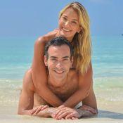 Ticiane Pinheiro parabeniza Cesar Tralli e assume: 'Me acostumando com marido'